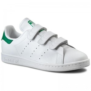 Black Friday 2020 - Adidas Schuhe Stan Smith CF S75187 Ftwwht/Ftwwht/Green