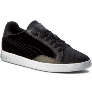 Black Friday 2020 - Puma Sneakers Match Swan Wn's 363175 01 Black/Puma Black