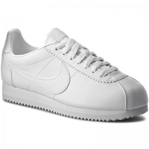 Nike Schuhe Classic Cortez Leather 807471 102 White/White