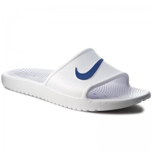 Nike Pantoletten Kawa Shower 832528 100 White/Blue Moon