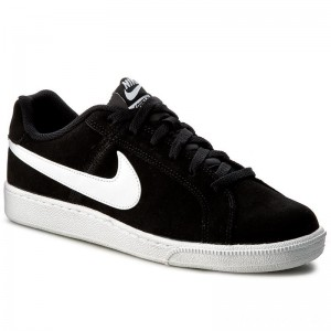 Nike Schuhe Court Royale Suede 819802 011 Black/White