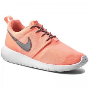 Nike Schuhe Roshe One (GS) 599729 612 Lava Glow/Cool Grey White