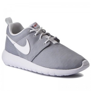 Black Friday 2020 - Nike Schuhe Roshe One (GS) 599728 038 Wolf Grey/White/Safety Orange