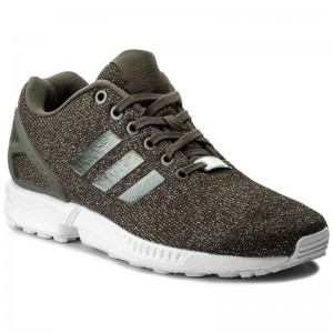 Black Friday 2020 - Adidas Schuhe Zx Flux W BY9210 Utigre/Utiblk/Silvmt