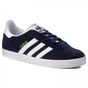 Black Friday 2020 - Adidas Schuhe Gazelle J BY9144 Conavy/Ftwwht/Ftwwht