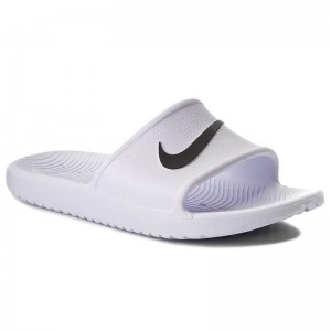 Nike Pantoletten Kawa Shower 832655 100 White/Black