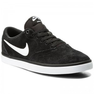Nike Schuhe Sb Check Solar 843895 001 Black/White