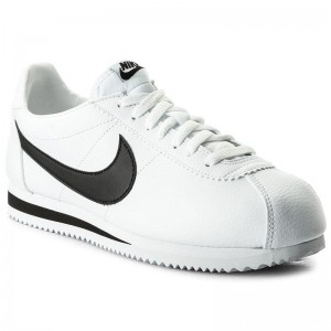 Nike Schuhe Classic Cortez Leather 749571 100 White/Black
