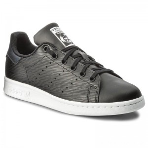 Black Friday 2020 - Adidas Schuhe Stan Smith J CM8191 Cblack/Cblack/Silvmt