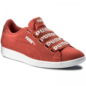 Black Friday 2020 - Puma Sneakers Vikky Ribbon Bold 365312 02 Spiced Coral/Spiced Coral
