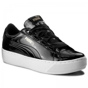 Black Friday 2020 - Puma Sneakers Vikky Platform Ribbon P 366419 01 Black/Puma Black
