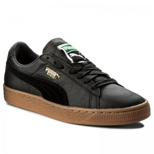 Black Friday 2020 - Puma Sneakers Basket Classic Gum Deluxe 365366 02 Black
