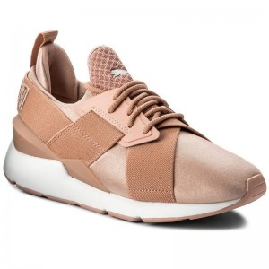 Black Friday 2020 - Puma Sneakers Muse Satin Ep 365534 01 Peach Beige/Puma White