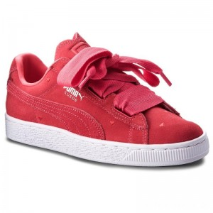 Black Friday 2020 - Puma Sneakers Suede Heart Valentine Jr 365135 01 Paradise Pink/Paradise Pink
