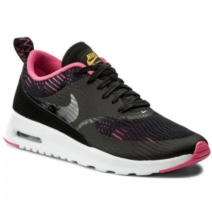 Black Friday 2020 - Nike Schuhe Air Max Thea Em 833887 001 Black/Black/Pink Blast