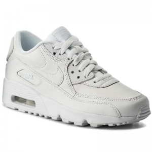 Nike Schuhe Air Max 90 Ltr (GS) 833412 100 White/White