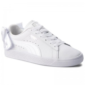 Puma Sneakers Basket Bow Jr 367321 01 White/Puma White