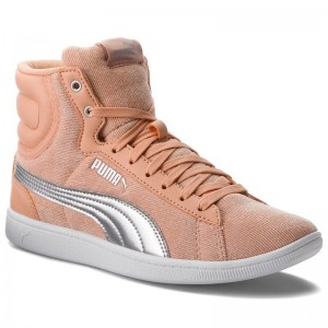 Puma Sneakers Vikky Mid Cord 366813 02 Dusty Coral/Puma Silver