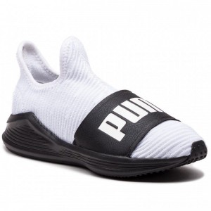 Puma Schuhe Fierce Slide Wn's 191161 03 White/Puma Black