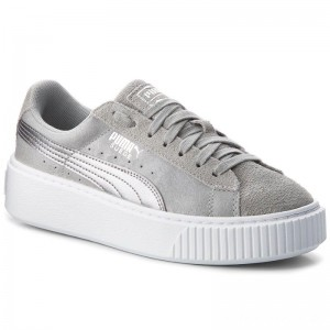 Puma Sneakers Suede Platform Safari 364594 02 Quarry/Quarry