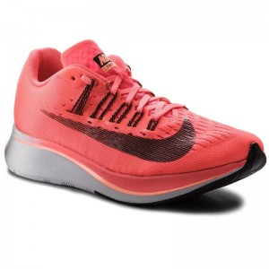Black Friday 2020 - Nike Schuhe Zoom Fly 897821 600 Hot Punch/Black/Crimson Pulse