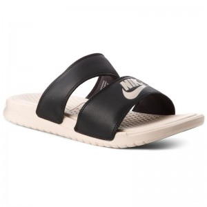 Black Friday 2020 - Nike Pantoletten Benassi Duo Ultra Slide 819717 004 Black/Guava Ice/Guava Ice