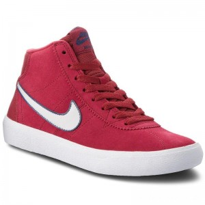 Nike Schuhe Sb Bruin Hi 923112 600 Red Crush/Vast Grey/White
