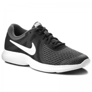 Nike Schuhe Revolution 4 (GS) 943309 006 Black/White/Anthracite