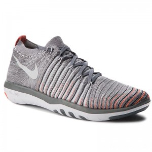 Nike Schuhe Free Transform Flyknit 833410 006 Cool Grey/Pure Platinum
