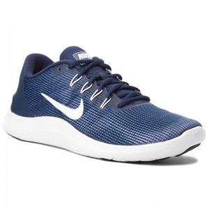 Nike Schuhe Flex 2018 Rn AA7397 400 Midnight Navy/White