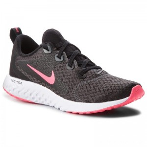 Nike Schuhe Legend React (GS) AH9437 001 Black/Racer Pink/Anthracite