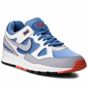 Nike Schuhe Air Span II AH6800 400 Mountain Blue/Wolf Grey
