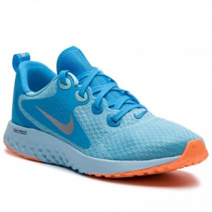Nike Schuhe Legend React (GS) AH9437 400 Blue Chill/Metallic Silver