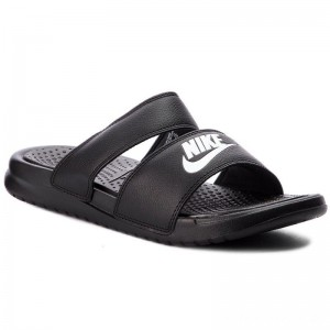 Black Friday 2020 - Nike Pantoletten Benassi Duo Ultra Slide 819717 010 Black/White