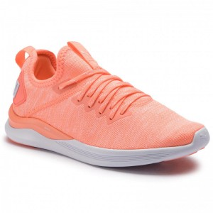 Puma Schuhe Ignite Flash EvoKnit Wn's 190511 15 Bright Peach/Puma White