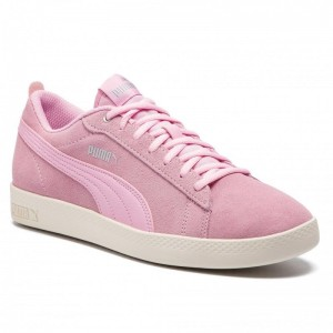 Black Friday 2020 - Puma Sneakers Smash Wns V2 Sd 365313 15 Pale Pink/Silver/W White