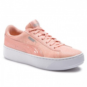 Black Friday 2020 - Puma Sneakers Vikky Platform Glitz Jr 366856 04 Peach Bud/Peach Bud