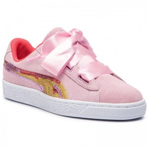 Black Friday 2020 - Puma Sneakers Suede Hrt Trailblazer Sqn Jr 368953 01 Pale Pink/Hibiscus