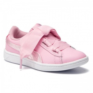 Black Friday 2020 - Puma Sneakers Vikky Ribbon L Satin Ps 369543 03 Pale Pink/Pale Pink
