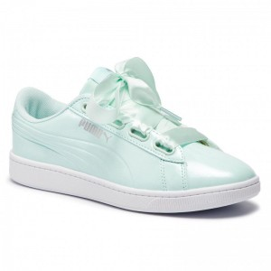Black Friday 2020 - Puma Sneakers Vikky v2 Ribbon P 369727 04 Fair Aqua/Puma Silver