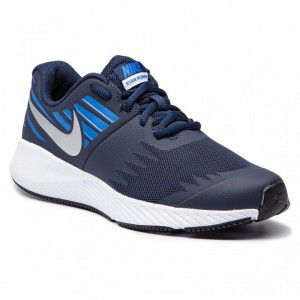 Black Friday 2020 - Nike Schuhe Star Runner (GS) 907254 406 Obsidian/Metakkic Silver