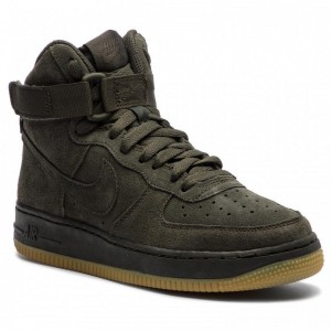 Nike Schuhe Air Force 1 High Lv8 (GS) 807617 300 Sequoia/Sequoia