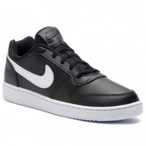 Nike Schuhe Ebernon Low AQ1775 002 Black/White