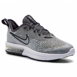 Nike Schuhe Air Max Sequent 4 (GS) AQ2244 003 Wolf Grey/Wolf Grey Anthracite