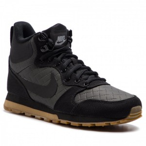 Nike Schuhe Md Runner 2 Mid Prem 845059 004 Black/Black/Gum Light Brown