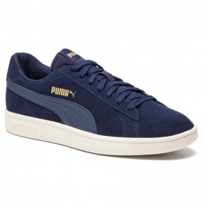 Puma Sneakers Smash V2 364989 24 Peacoat/Gold/Whisper White