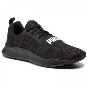 Black Friday 2020 - Puma Schuhe Wired 366970 01 Black/Puma Black/Black