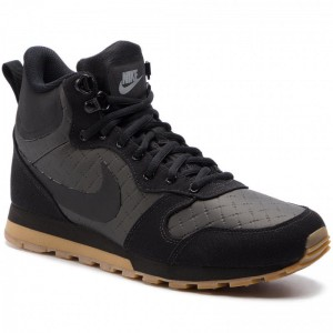 Nike Schuhe Md Runner 2 Mid Prem 844864 006 Black/Black/Gum Light Brown