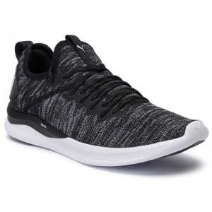 Black Friday 2020 - Puma Schuhe Ignite Flash EvoKnit 190508 02 Black/Asphalt/White