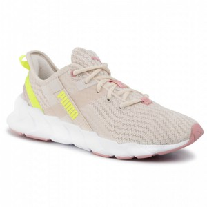 Black Friday 2020 - Puma Schuhe Woave XT Shift Wn's 192613 01 Pastel Parchment/Puma White